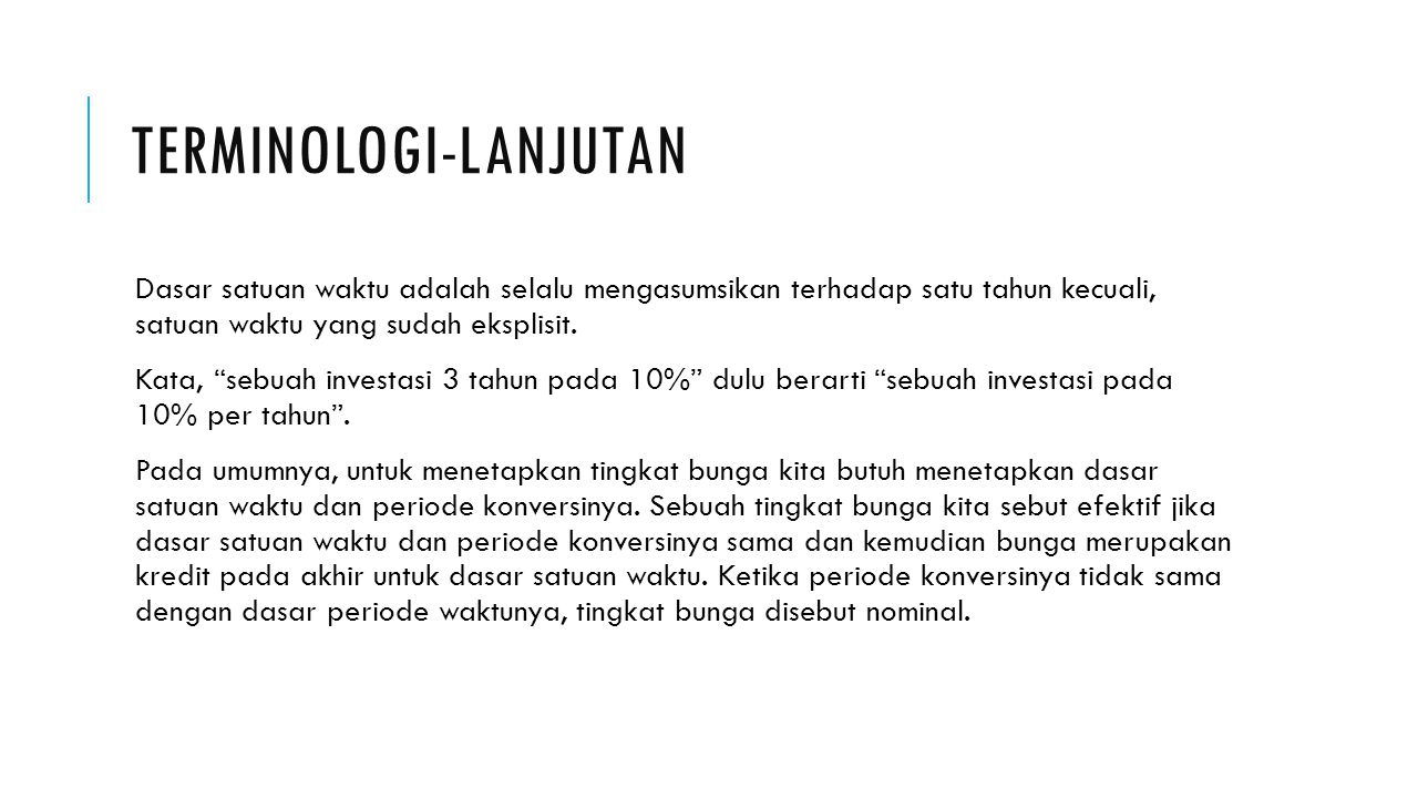 Terminologi-lanjutan