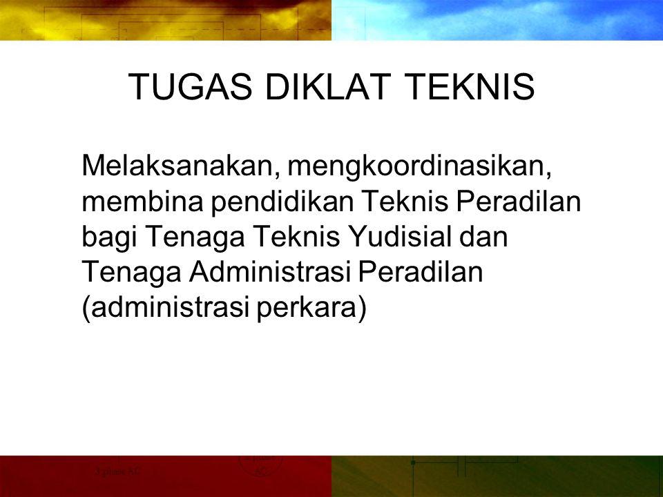TUGAS DIKLAT TEKNIS