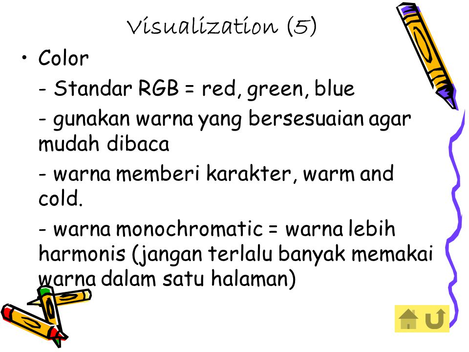 Visualization (5) Color - Standar RGB = red, green, blue