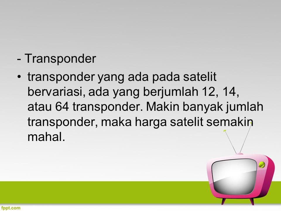 - Transponder