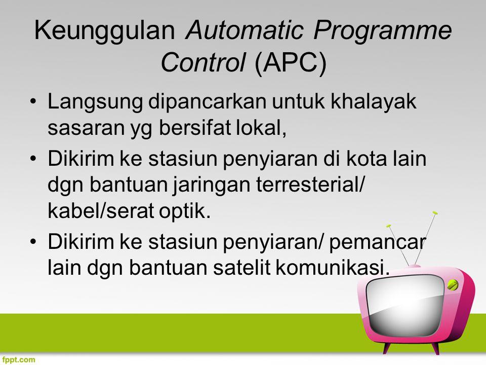 Keunggulan Automatic Programme Control (APC)
