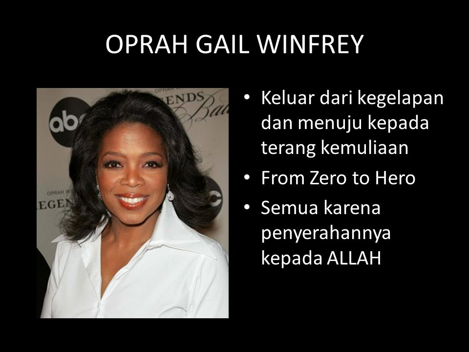 "oprah gail winfrey Watch video but winfrey says it's not going to happen ""gayle — who knows me as well as i know myself practically — has been calling me regularly and texting me things, like a woman in the airport saying, 'when's oprah going to run'."