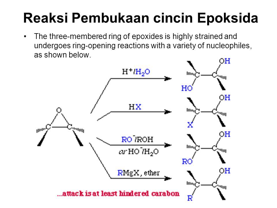 Reaksi Pembukaan cincin Epoksida