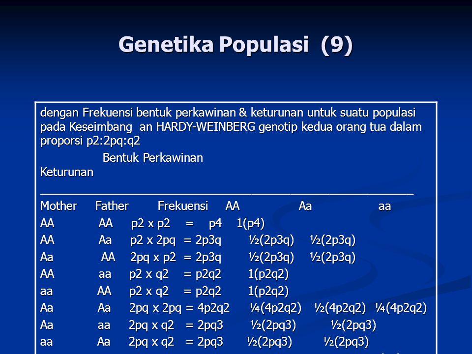 Genetika Populasi (9)