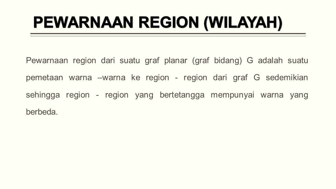 PEWARNAAN REGION (WILAYAH)