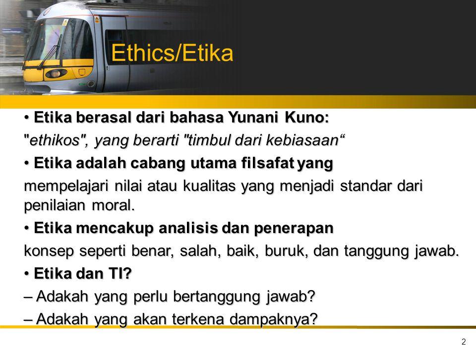 Ethics/Etika