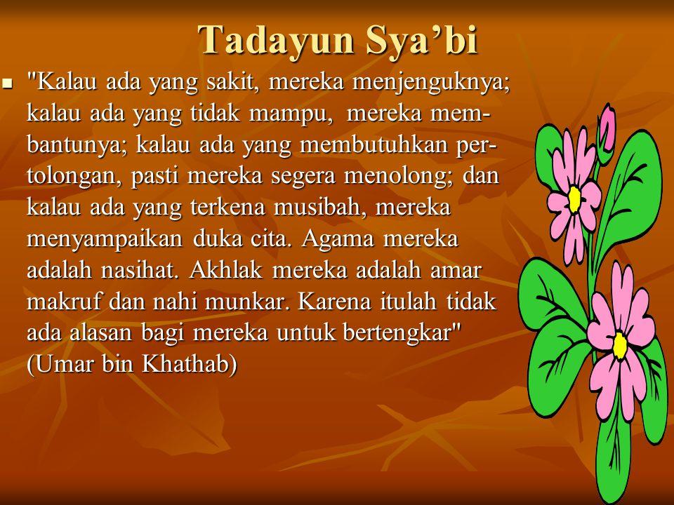 Tadayun Sya'bi