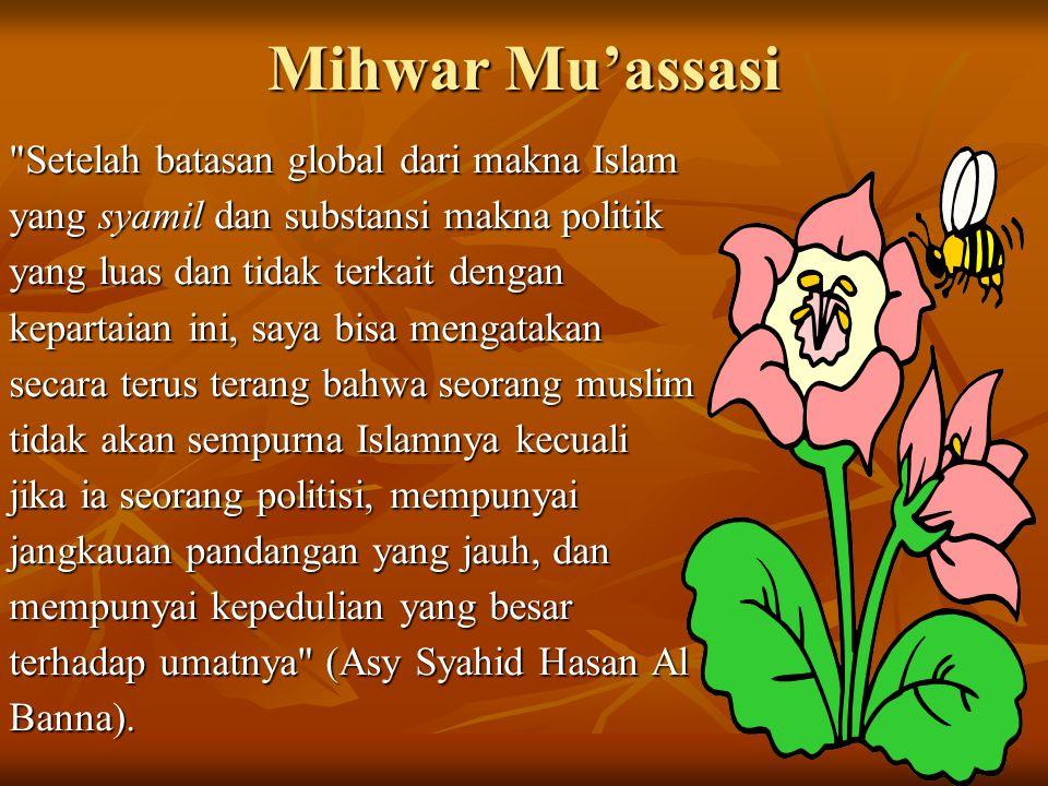 Mihwar Mu'assasi