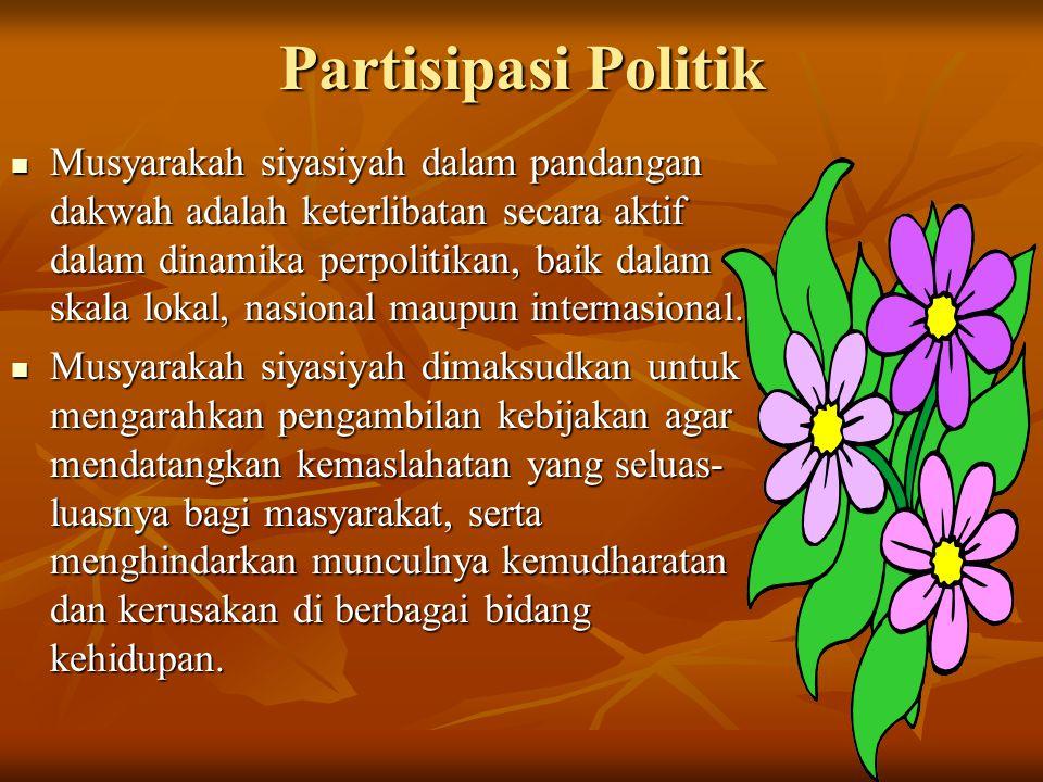 Partisipasi Politik
