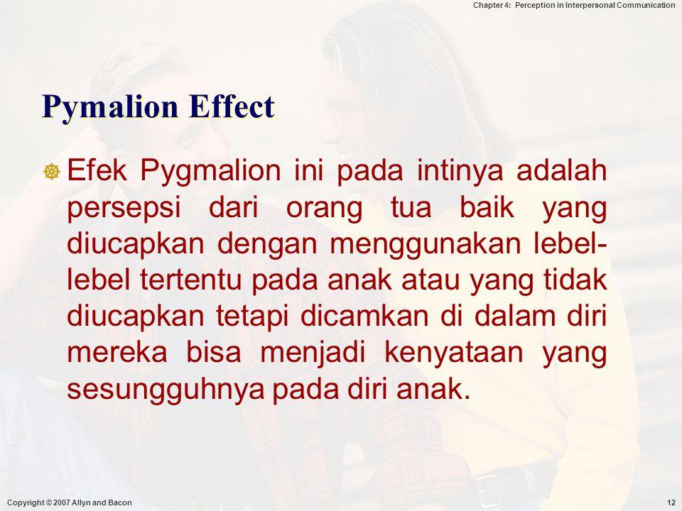 Pymalion Effect