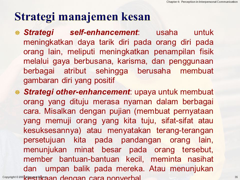 Strategi manajemen kesan