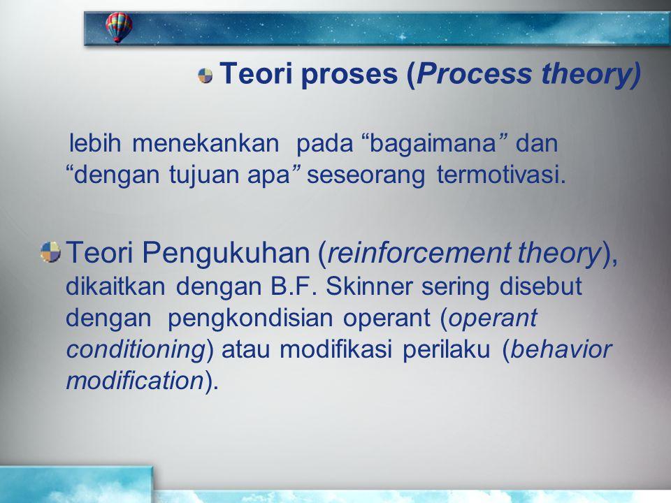Teori proses (Process theory)
