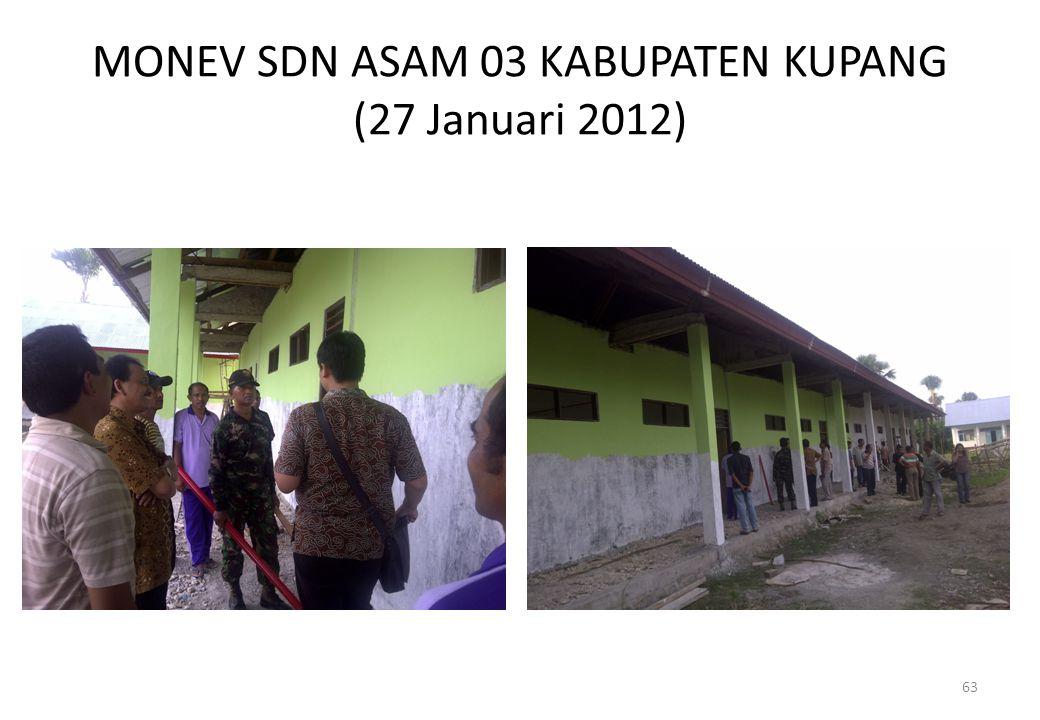 MONEV SDN ASAM 03 KABUPATEN KUPANG (27 Januari 2012)