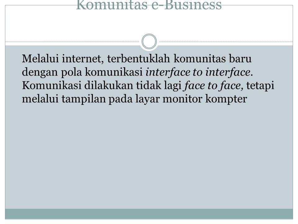 Komunitas e-Business