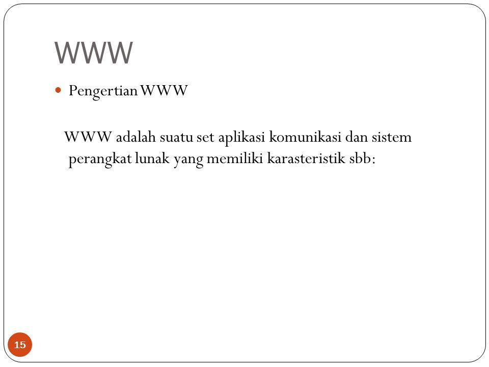 WWW Pengertian WWW.