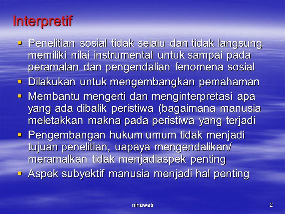 Interpretif