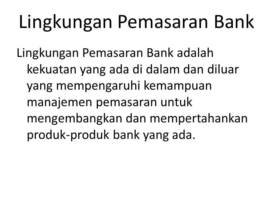 Lingkungan Pemasaran Bank