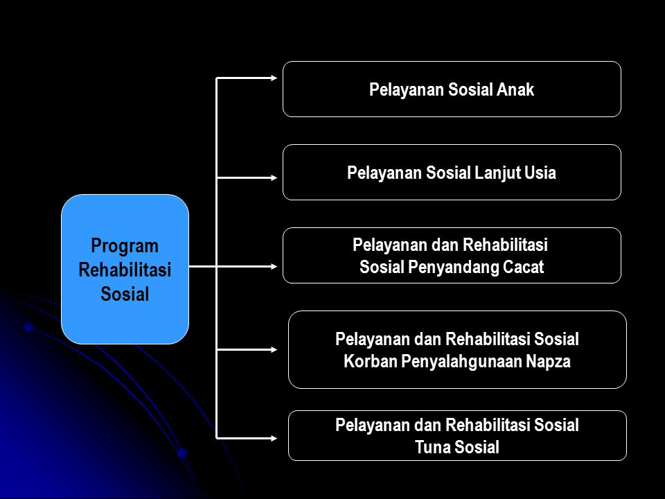 Program Rehabilitasi Sosial