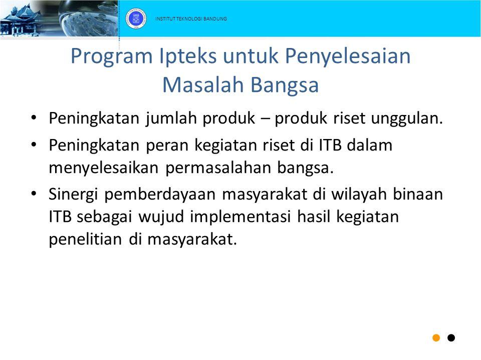 Program Ipteks untuk Penyelesaian Masalah Bangsa