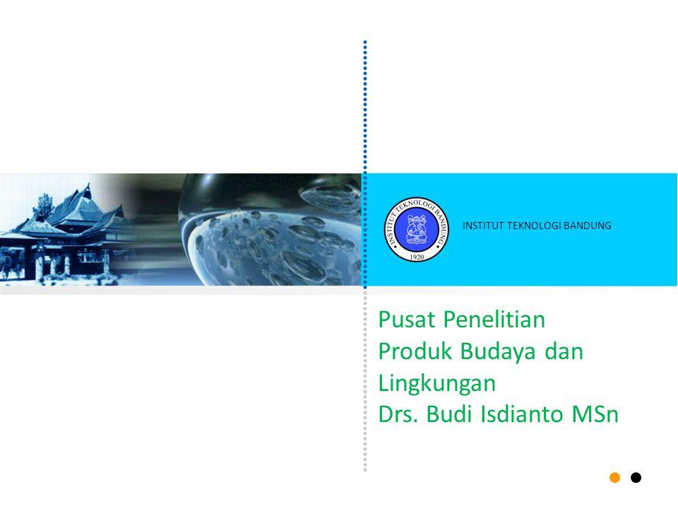 Produk Budaya dan Lingkungan Drs. Budi Isdianto MSn