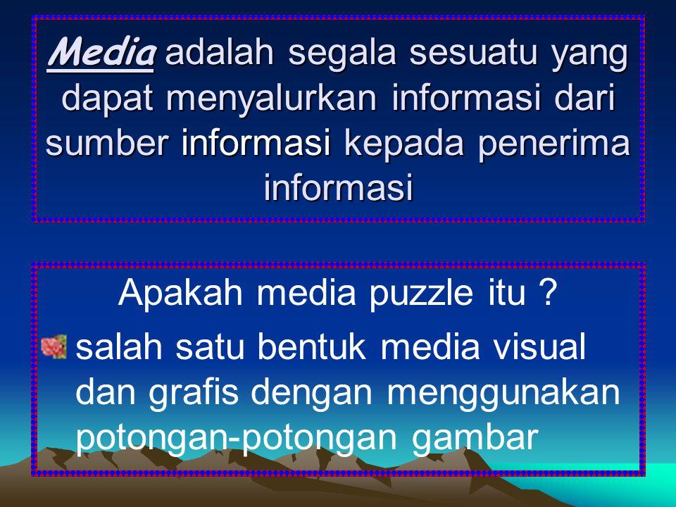 Apakah media puzzle itu