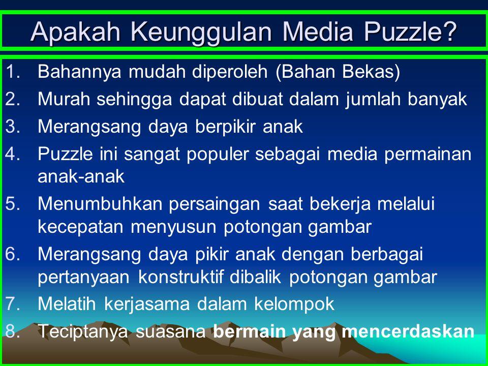 Apakah Keunggulan Media Puzzle