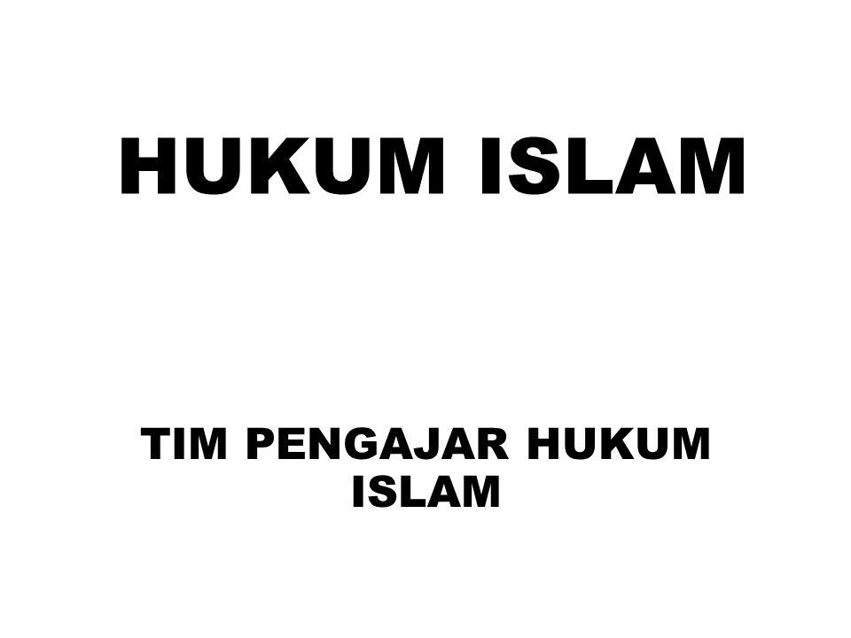 TIM PENGAJAR HUKUM ISLAM