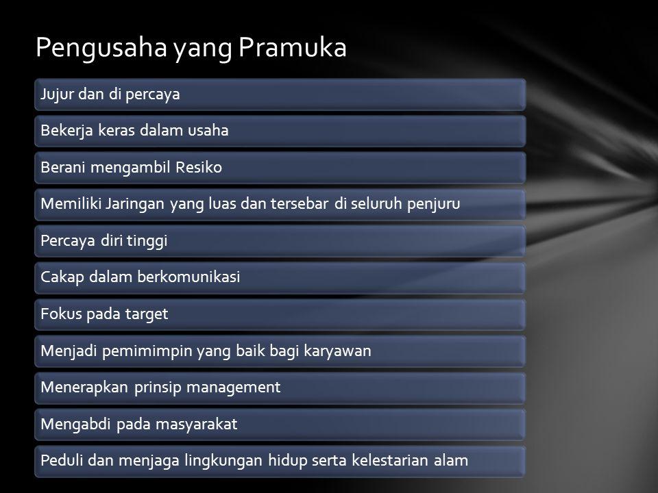 Pengusaha yang Pramuka