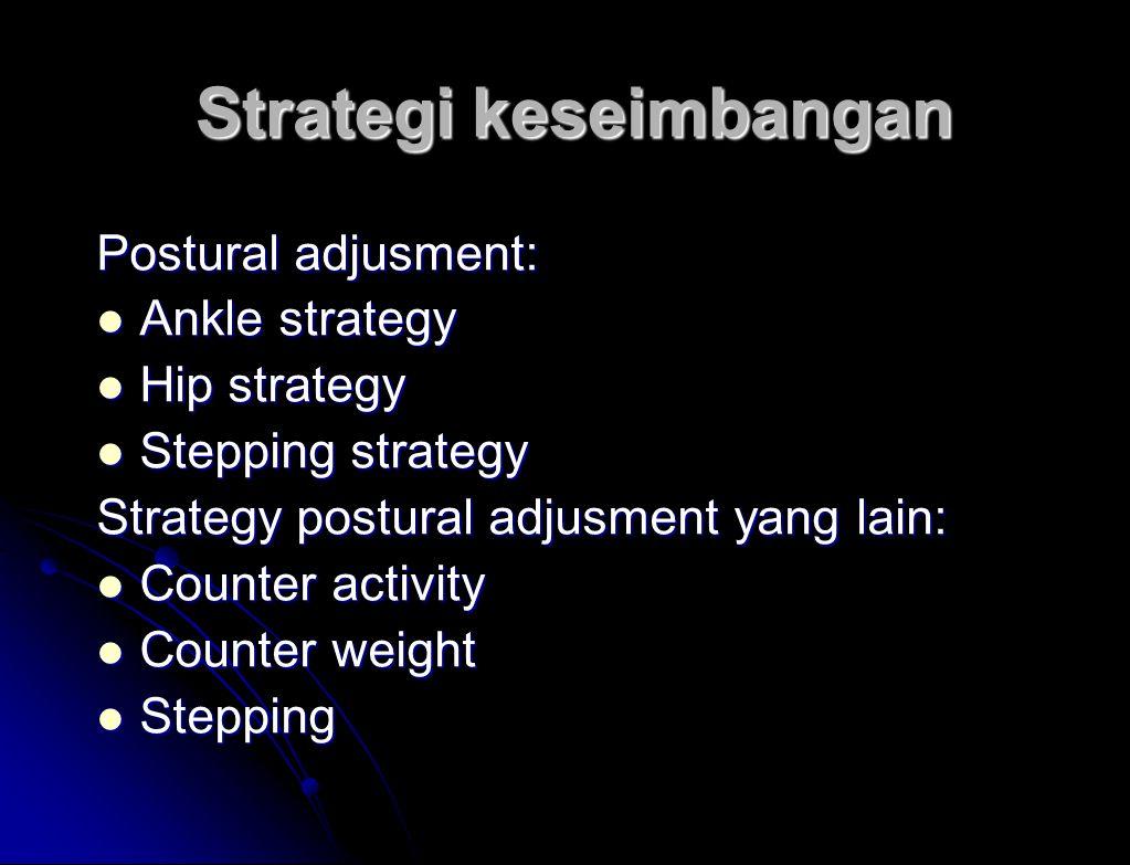 Strategi keseimbangan