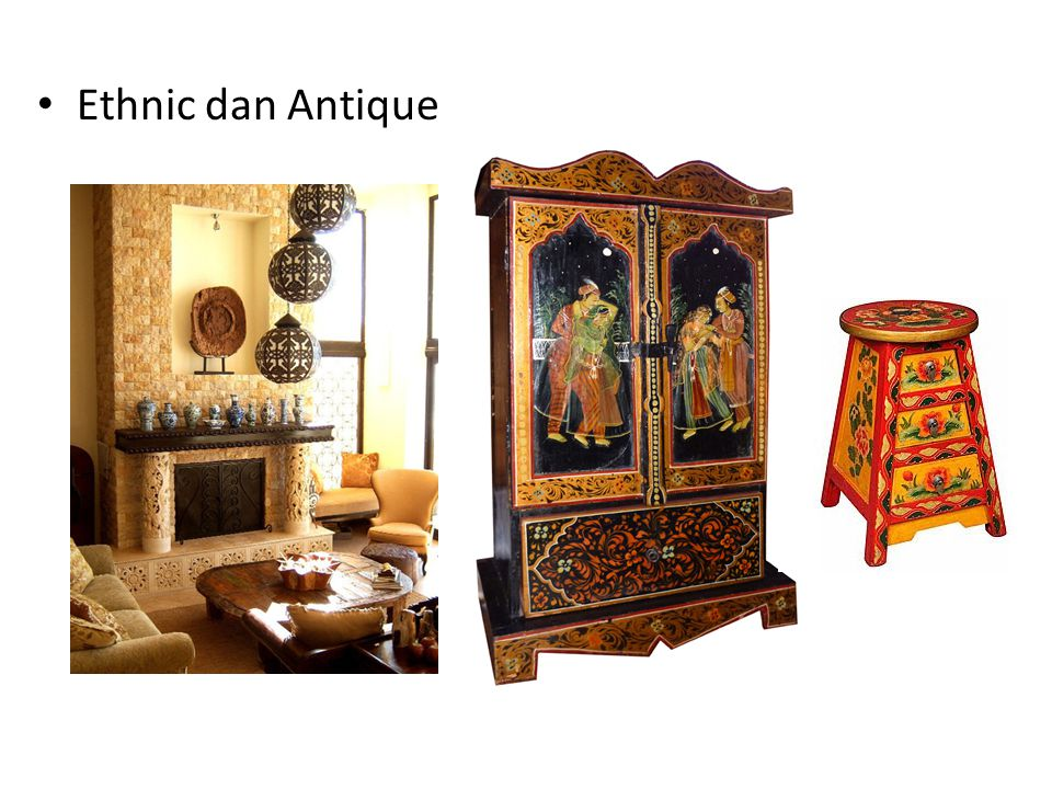 Ethnic dan Antique