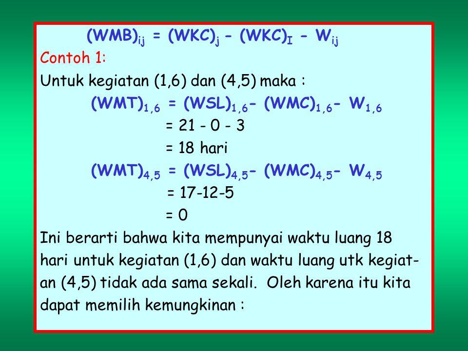 (WMB)ij = (WKC)j - (WKC)I - Wij