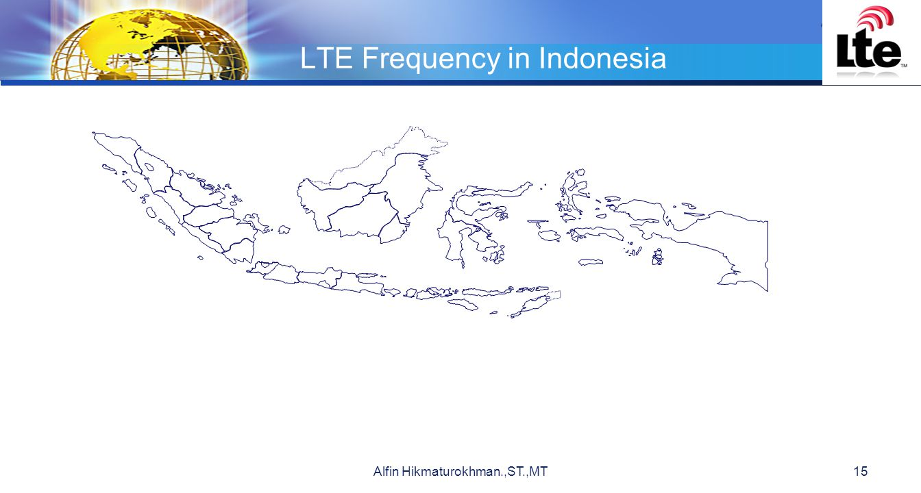 LTE Frequency in Indonesia