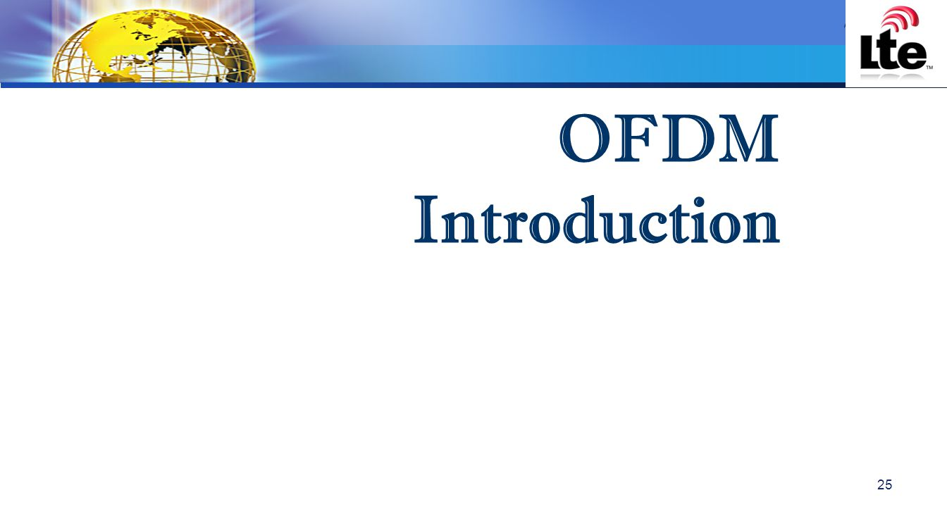 OFDM Introduction