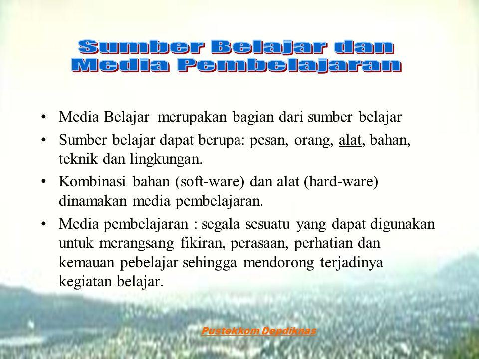 Sumber Belajar dan Media Pembelajaran