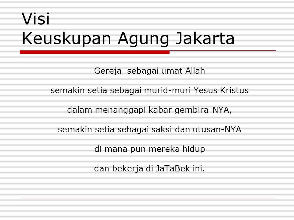 Visi Keuskupan Agung Jakarta