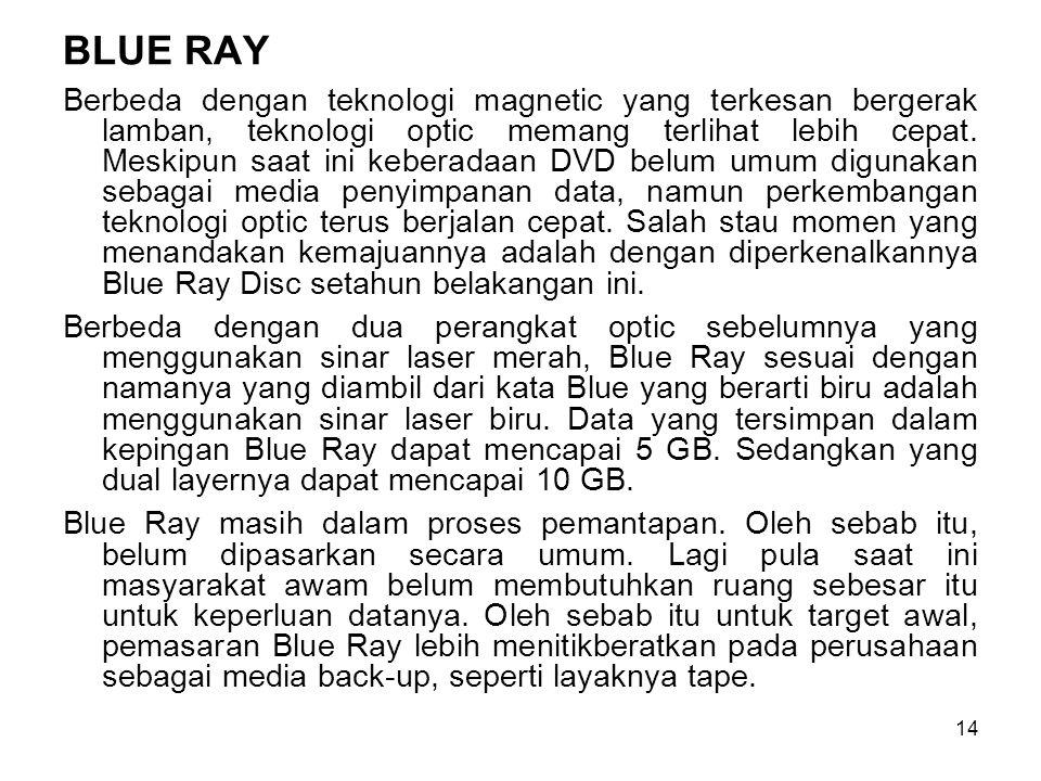 BLUE RAY