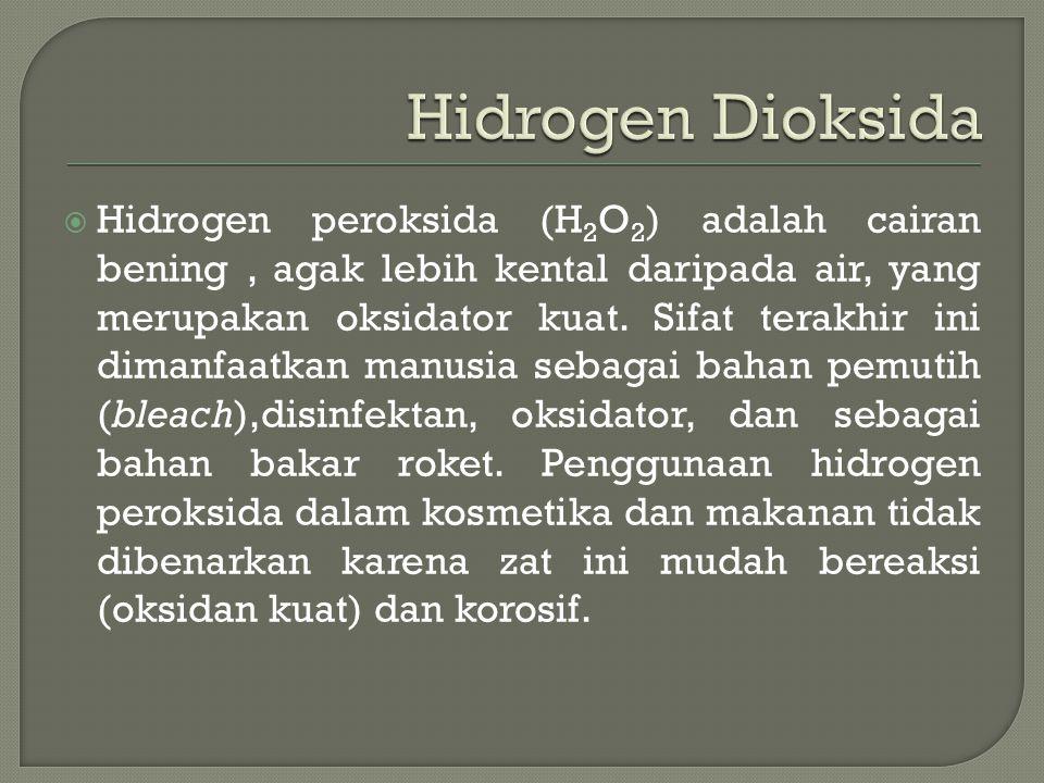 Hidrogen Dioksida