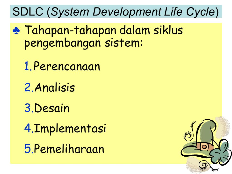 SDLC (System Development Life Cycle)