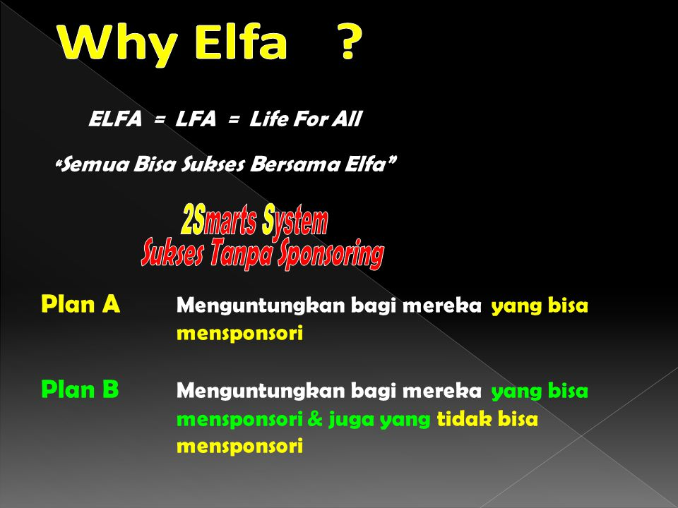 Semua Bisa Sukses Bersama Elfa