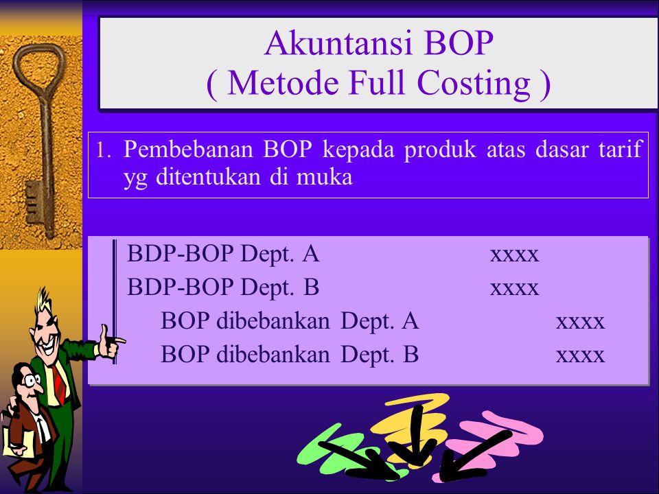 Akuntansi BOP ( Metode Full Costing )