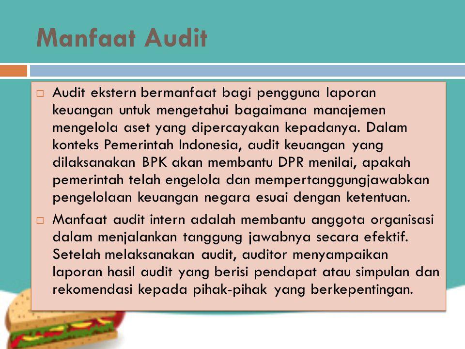 Manfaat Audit