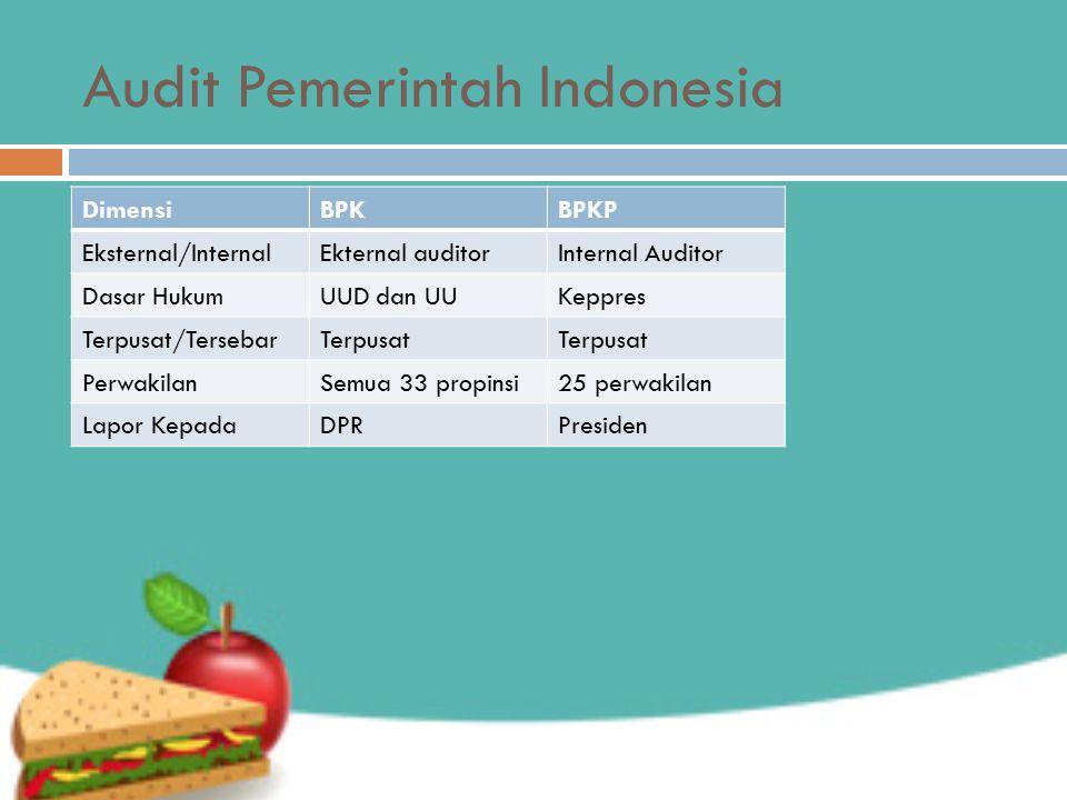 Audit Pemerintah Indonesia