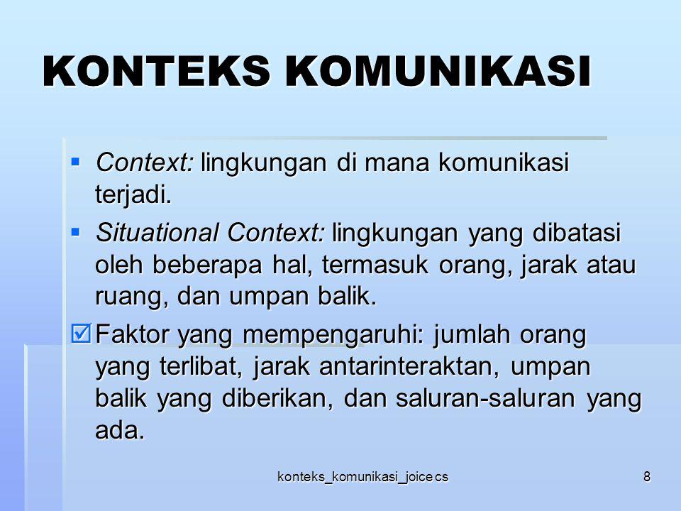 konteks_komunikasi_joice cs