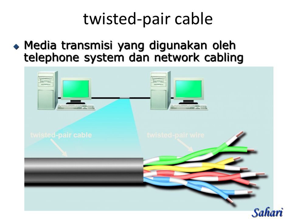 twisted-pair cable Sahari