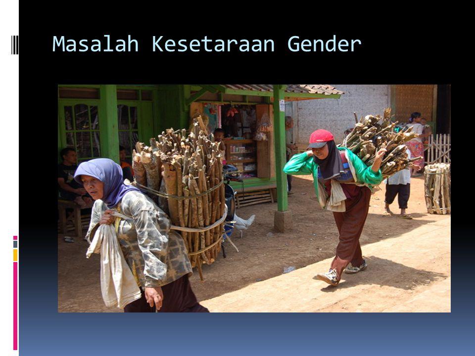 Masalah Kesetaraan Gender