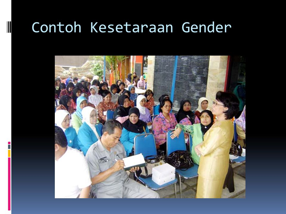 Contoh Kesetaraan Gender
