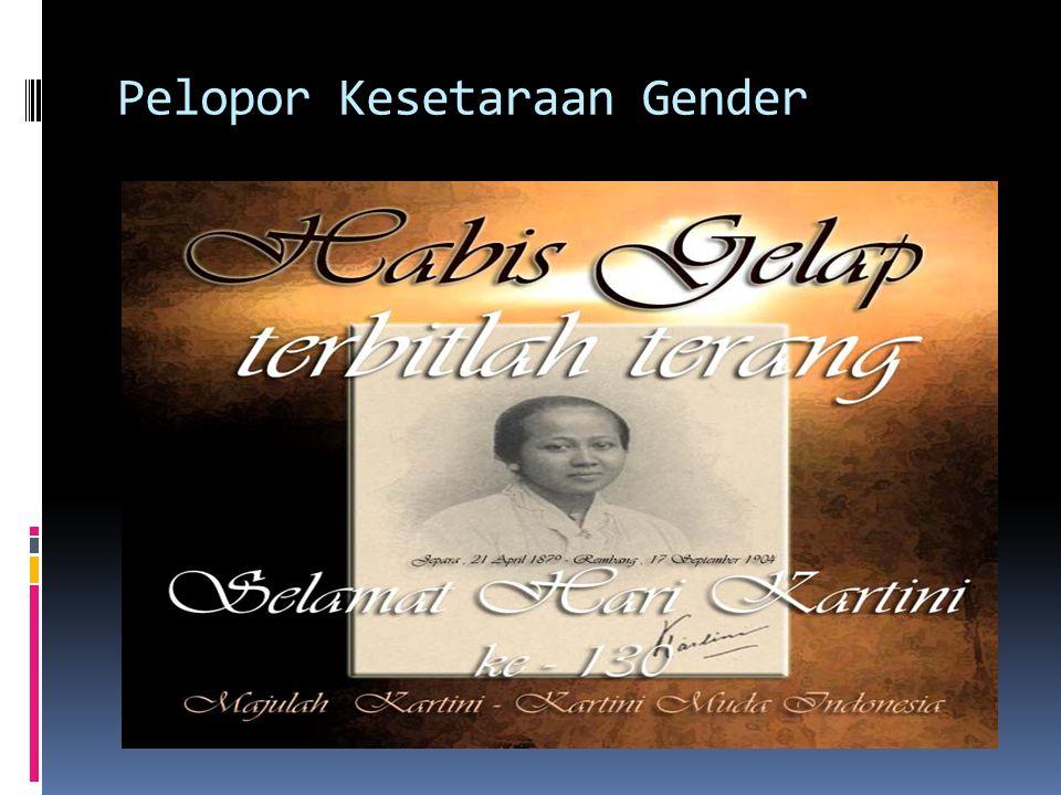 Pelopor Kesetaraan Gender