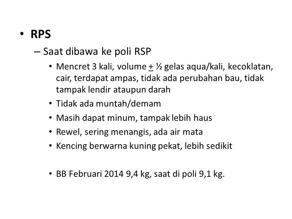 RPS Saat dibawa ke poli RSP