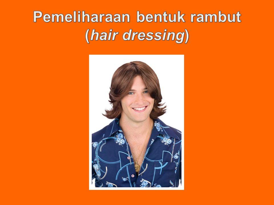 Pemeliharaan bentuk rambut (hair dressing)