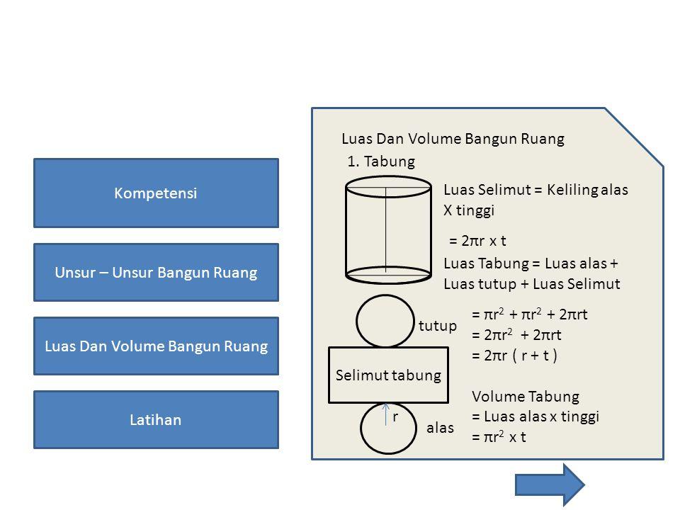 Luas Dan Volume Bangun Ruang